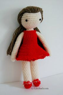 Free crochet doll pattern crochet doll with clothes free pattern
