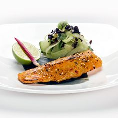 What are you having for dinner tonight? How about our mouth-watering Miso & Yuzu Salmon? Book online: www.inamo-stjames.com