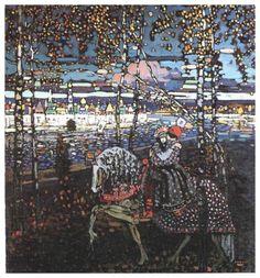 Couple riding - Wassily Kandinsky