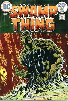 Swamp Thing #9 - Wrightson
