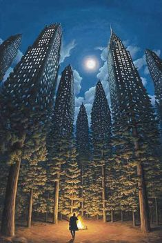 Today the Department of Astonishing Optical Illusions is pleased to present the work of Canadian artist Robert Gonsalves. Inspired at a young age by the work of Surrealist artists such as Salvador. Magritte, Robert Gonsalves, Illusion Kunst, Optical Illusions Drawings, Optical Illusion Paintings, Optical Illusion Tattoo, Art Optical, Magical Paintings, Amazing Paintings