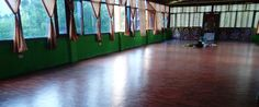 Yoga Teacher Training in India, Chandra Yoga - Yoga Hall in Rishikesh.