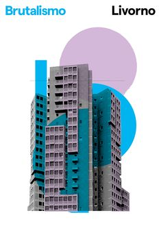 Graphic brutality posters of Italian brutalist architecture in pictures is part of architecture - Brutalismo is a poster series of Italian brutalist architecture by Londonbased graphic designer Peter Chadwick Collage Architecture, Architecture Magazines, Architecture Graphics, Architecture Portfolio, Architecture Design, Architecture Posters, Architecture Drawing Plan, Pavilion Architecture, Victorian Architecture