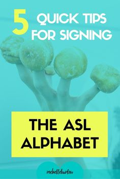 Signing the ASL alph