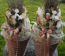 Jarní dekorace v růžové