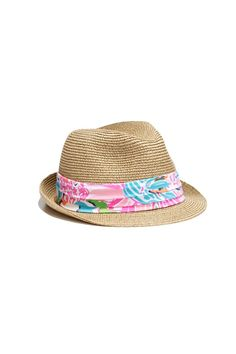 LillyPulitzerforTarget_fedora with blue and white print band.jpeg