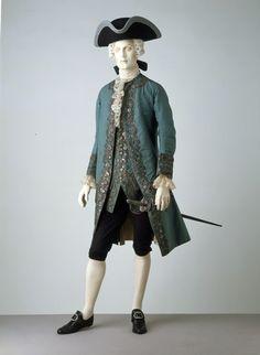 Suit 1760s The Victoria & Albert Museum