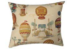 Pierre Frey Les A�ronefs  Pillow on OneKingsLane.com