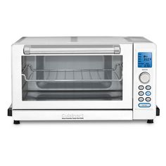 Looking for Cuisinart 157 Deluxe Convection Toaster Oven Broiler ? Check out our picks for the Cuisinart 157 Deluxe Convection Toaster Oven Broiler from the popular stores - all in one. 6 Slice Toaster, Toaster Ovens, White Toaster, Countertop Oven, Specialty Appliances, Small Kitchen Appliances, Kitchen Small, W 6, Brushed Stainless Steel