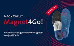 Ab sofort erhältlich: Magnet4Go! - die Magnet-Einlegesohle von ENERGETIX Bingen