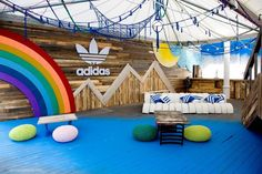 adidas 600x400 Adidas pop up store made of repurposed materials
