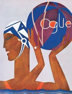 Uptown Lovely: Vintage Vogue covers