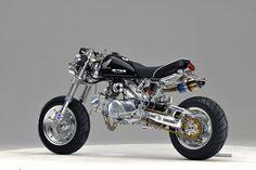 """Honda Monkey #1 by GCraft. A customized Honda """"Monkey Bike""""."""