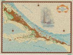 Exuma Islands Map