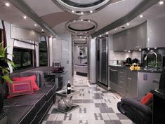 luxury motorhomes interier | luxury RV interior | Ridin dirty