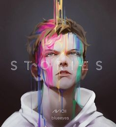 """99k Likes, 642 Comments - Avicii (@avicii) on Instagram: """"Love this incredibly accurate fanart by @blueeie5 What do you guys think?"""""""