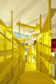 Oficina Unite Here Health en Los Angeles,Cortesía de Lehrer Architects