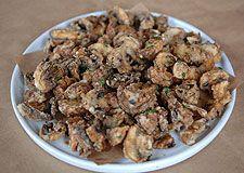 Fritti's Funghi (fried mushrooms)
