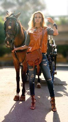 The Chariot   #chariot #horse #marni #jeans #earrings #cuff #fringe #snake #skin #chloe #heels #fashion #ootd #wiwt #ambrelouise #hearhergardner #floramazona #jewellery #elisabettafranchi
