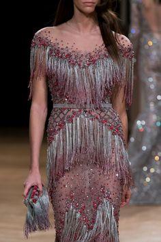 Ziad Nakad at Couture Fall 2016 - Details Runway Photos Style Haute Couture, Couture Details, Couture Fashion, Runway Fashion, High Fashion, Gala Dresses, Couture Dresses, Fashion Dresses, Beautiful Gowns