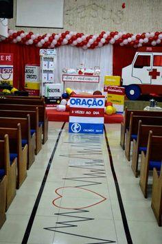 Culto De crianças Kindergarten Sunday School, Missionary Church, Bible Games, Vacation Bible School, Bible For Kids, Kids Church, Diy Crafts For Kids, Ideas Para, Decoration