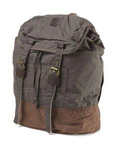 Two Tone Backpack - TJ Maxx