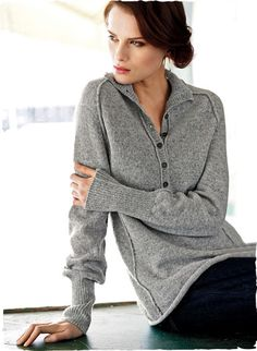 Our bestselling pullover in woolen-spun baby alpaca, the finest grade of alpaca. Unbelievably light and lofty, these luxe, versatile henleys are full-fashion knit with a convertible mock neck, deep ribbed cuffs and contemporary exposed seams.