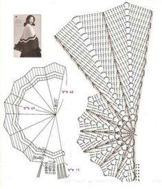 Chal: patrones a crochet | iRincondeLuzdelSol