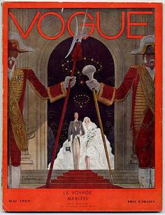 Vogue. Special wedding editions 1929. Vintage style vogue #vintage #vogue #covers