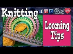 Learn To Knit With Knitting Looms
