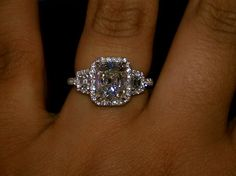 Holy moly...THIS IS MY ABSOLUTE FAVORITE!!!!  I WOULD CRY. SO BEAUTIFUL.  DREAM RING RIGHT HERE