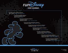 The 2015-2016 runDisney Event Dates