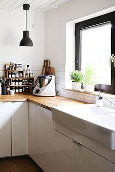 Schaut Euch mal diese stylische Küche an! ♥