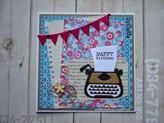 linde's hobbyblogje: Verjaardagskaartjes