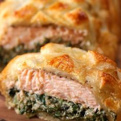 Here's An Out Of This World Recipe For Salmon Wellington