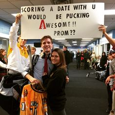 Hockey promposal