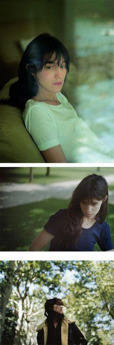 Charlotte Gainsbourg shot by Serge Leblon 2006 | sergeleblon.com.