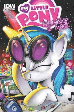 Vinyl Scratch San Diego Exclusive Cover art by andypriceart on DeviantArt