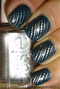 "My Chihuahua Bites!: OPI - ""Ski Teal We Drop"", et un p'tit stamping..."
