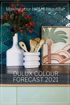 Dulux has 3 new colour palettes for 2021, Retreat, Nourish and Reset. Find our more about them here. Interior Color Schemes, Colour Schemes, Color Trends, Colour Palettes, All The Colors, Green Colors, Home Trends, Colorful Interiors, Color Inspiration