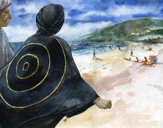 """Макс на пляже. """"Волна ненависти захлестнула меня"""" (с)"""