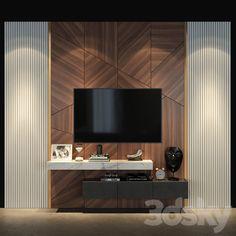Modern Tv Unit Designs, Modern Tv Wall Units, Living Room Tv Unit Designs, Tv Unit Interior Design, Tv Unit Furniture Design, Tv Wall Design, Tv Unit Decor, Tv Wall Decor, Wall Tv