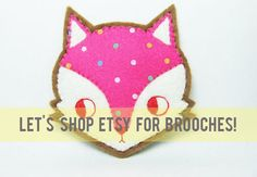 my guide to brooches on etsy!