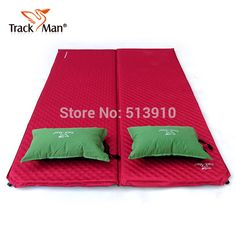 Quality Trackman widened thick double automatic inflatable mattress inflatable cushion outdoor moisture pad bed genuine camping mat with free worldwide shipping on AliExpress Mobile Men Store, Beach Mat, Mattress, Moisturizer, Outdoor Blanket, Cushions, Camping, Entertaining, Bed