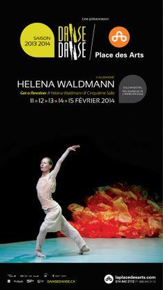 Helena Waldmann (Allemagne) GET A REVOLVER. 12 au 15 février 2014. Une coprésentation Danse Danse / Place des Arts. Dans ce brillant solo sur le thème de la démence, l'Allemande Helena Waldmann nous fait traverser toute une gamme d'émotions en jouant subtilement avec la théâtralité et divers styles de danse pour montrer comment la folie peut être à la fois un facteur d'exclusion et un formidable espace d'insoumission et de liberté.