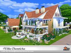 Villa Chonticha by autaki at TSR via Sims 4 Updates