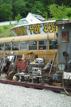 The Best Hot Dogs Around! Hillbilly Hot Dogs!! Featured on the Food Network and Travel Channel. Lesage, WV