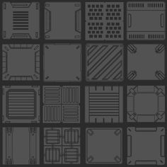 [CLOSED] Pixel art tileset needed for sci-fi fps/exploration game