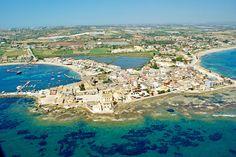 Marzamemi, Sicily - Veduta aerea di Marzamemi