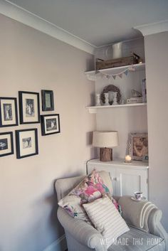 Dulux gentle fawn more living room New Living Room, Home And Living, Living Room Decor, Chic Shadow Dulux Living Room, Dining Room, Hallway Colours, Room Colors, Dulux Paint Colours Hallways, Dulux Bedroom Colours